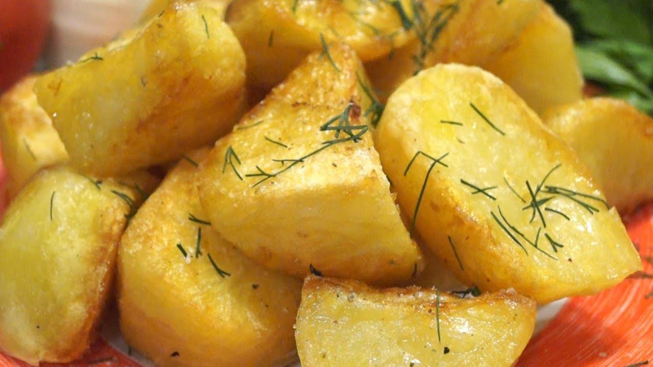 Запечённая картофель в духовке рецепт