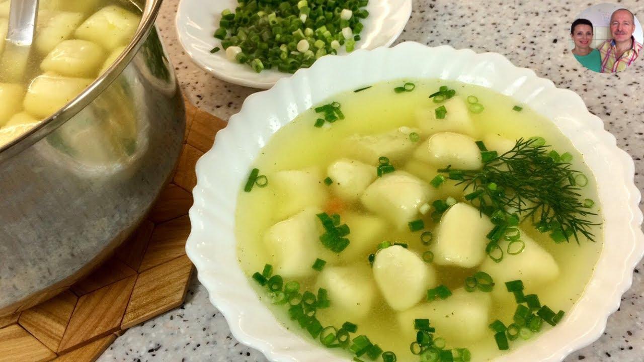 Как сделать суп из галушек рецепт 26